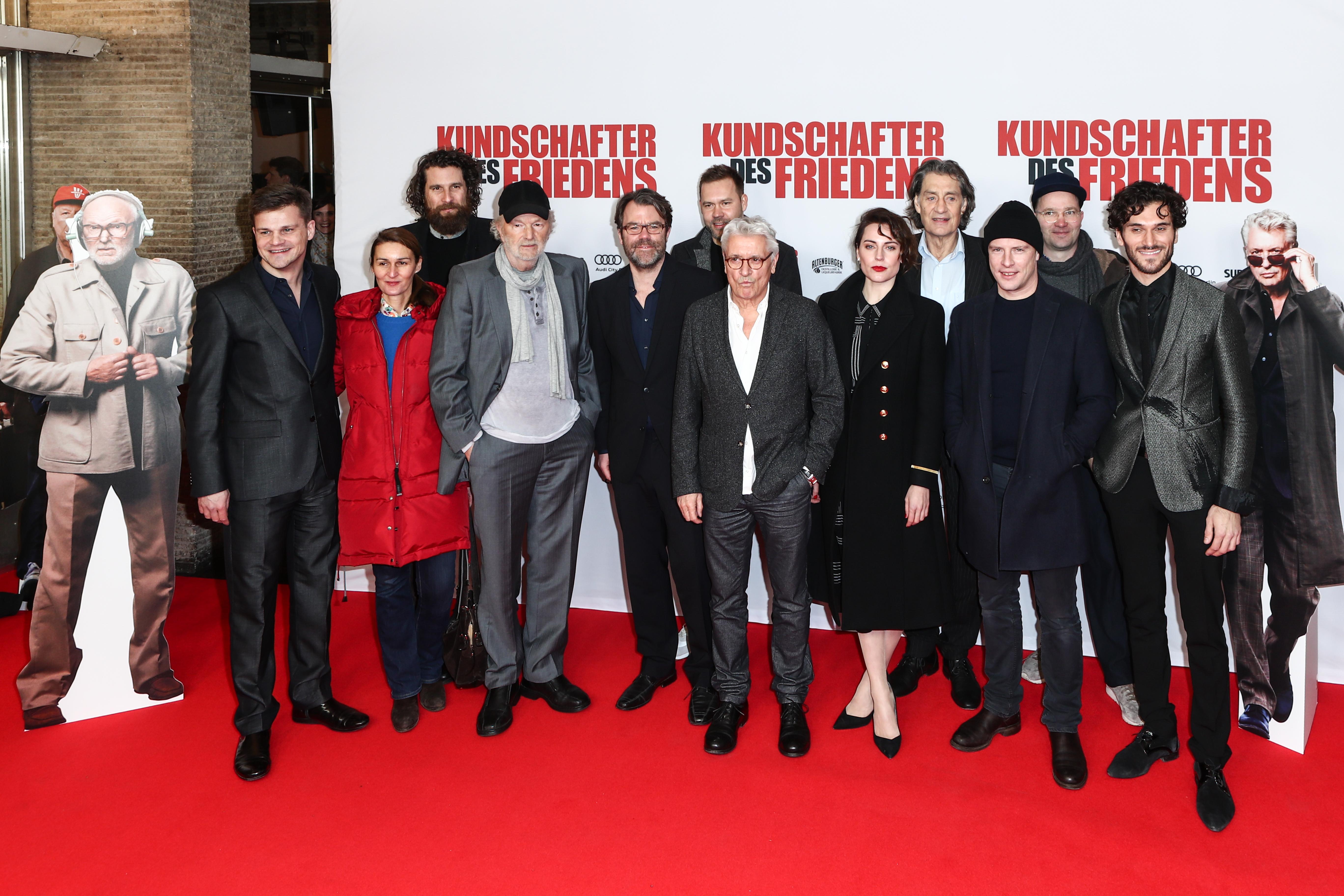 Cast und Crew - Weltpremiere des Films KUNDSCHAFTER DES FRIEDENS | Cast und Crew - Weltpremiere des Films KUNDSCHAFTER DES FRIEDENS